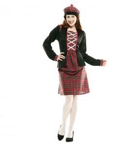 Disfraz de Escocesa clásica para mujer