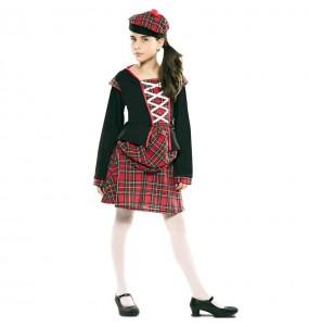 Disfraz de Escocesa clásica para niña