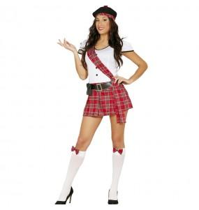 Disfraz de Escocesa Sexy Adulto