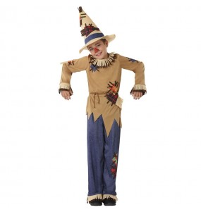 Disfraz de Espantapájaros para niño