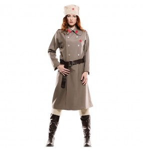 Disfraz de Espía Rusa para mujer