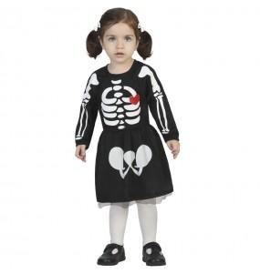 Disfraz de Esqueleto adorable para bebé
