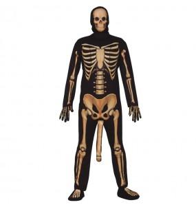 disfraz de esqueleto elegante adulto