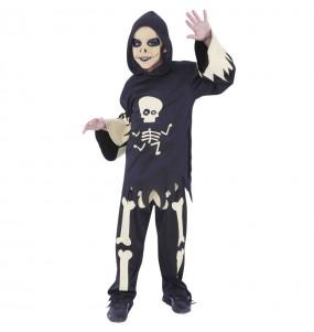 Disfraz de Esqueleto con ojos móviles para niño