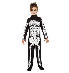 Disfraz de Esqueleto de las tinieblas para niño