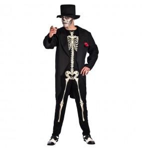 Disfraz de Esqueleto Día de los Muertos Adulto