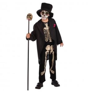 Disfraz de Esqueleto Día de los Muertos Infantil