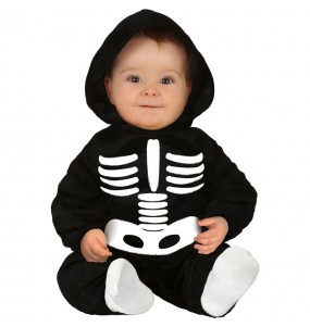 Disfraz de Esqueleto Halloween para bebé