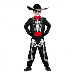 Disfraz de Esqueleto Mejicano niño