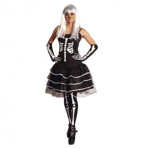 Disfraz de Esqueleto Skelita para mujer