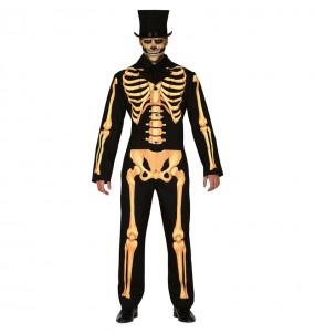 Disfraz de Esqueleto Skull para hombre