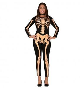 Disfraz de Esqueleto Skull para mujer