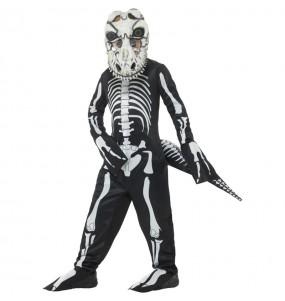 Disfraz de Esqueleto T-Rex para niño