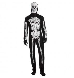 Disfraz de Esqueleto tenebroso para hombre
