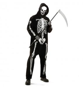 Disfraz de Esqueleto Zombie para hombre