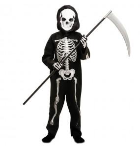 Disfraz de Esqueleto Zombie para niño