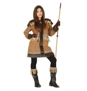 Disfraz de Esquimal Polo Norte mujer