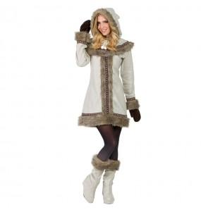 Disfraz de Esquimal Siberiana para mujer