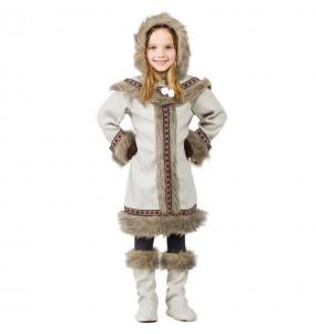 Disfraz de Esquimal Siberiana para niña