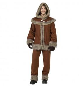 Disfraz de Esquimal Yupik para hombre