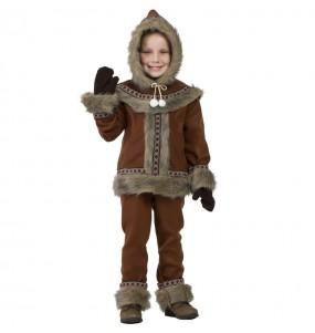 Disfraz de Esquimal Yupik para niño