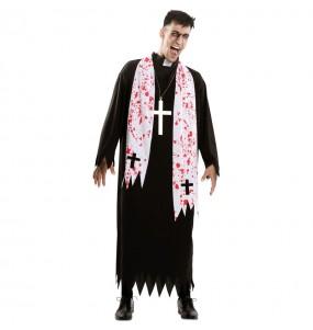 Disfraz de Exorcista para hombre
