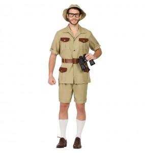 Disfraz de Explorador Jungla para hombre