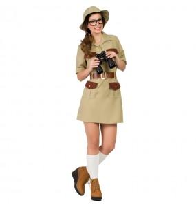 Disfraz de Exploradora Jungla para mujer