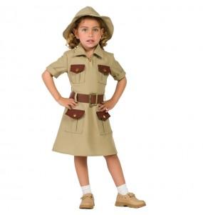 Disfraz de Exploradora Jungla para niña