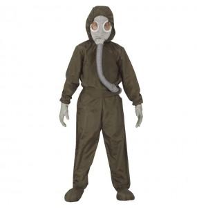 Disfraz de Exterminador nuclear para niño