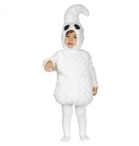 Disfraz de Fantasma blanco para bebé