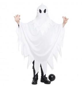 Disfraz de Fantasma blanco para niño
