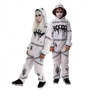 Disfraz de Fantasma Kigurumi para niño
