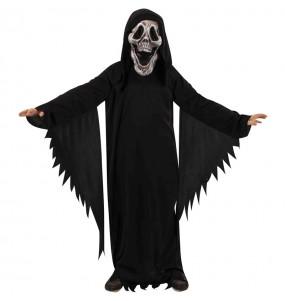 Disfraz de Fantasma Skull para niño