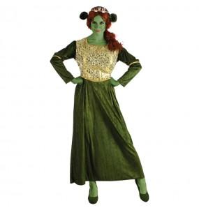 Disfraz de Fiona Shrek para mujer