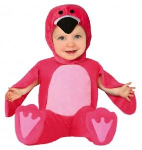 Disfraz de Flamenco rosa para bebé