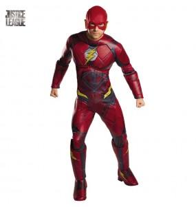 Disfraz de Flash Liga de la Justicia para adulto