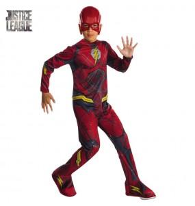 Disfraz de Flash Liga de la Justicia para niño
