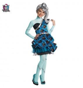 Disfraz de Frankie Stein Sweet para niña