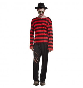 Disfraz de Freddy Krueger Elm street para hombre
