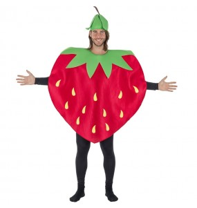 Disfraz de Fresa del Bosque para adulto