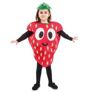 Disfraz de Fresa del Bosque para niño