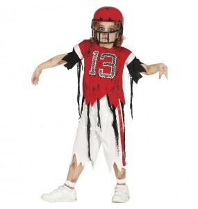 Disfraz de Fútbol Americano Zombie para niño