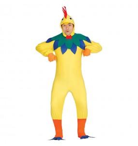 Disfraz de Gallo Multicolor para hombre