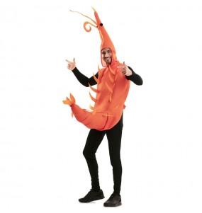 Disfraz de Gamba de Huelva para adulto