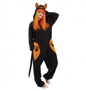Disfraz de Gato siniestro para mujer