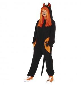 Disfraz de Gato siniestro para niña