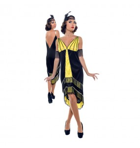 Disfraz de Gatsby años 20 para mujer