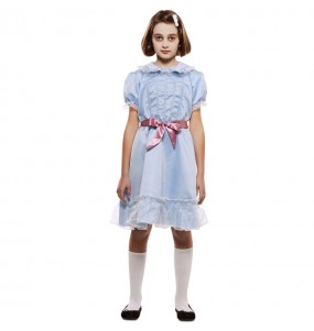 Disfraz de Gemelas El Resplandor para niña