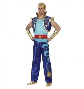 Disfraz de Genio Aladdín para hombre